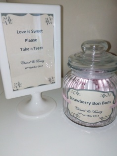Wedding Candy Sign