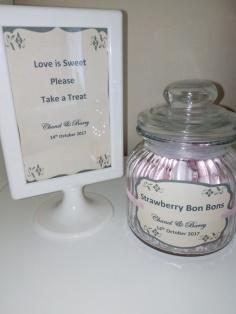 Wedding Candy Sign