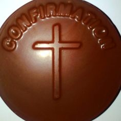 Confirmation Chocolate Lollipop