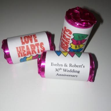 Wedding Anniversary Love Hearts