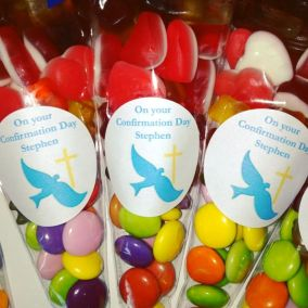 Personalised Candy Cone Bags