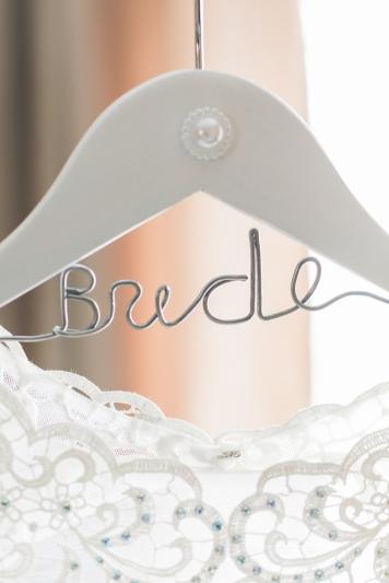 Our Wedding - Bride Hanger - DIY