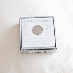 Our Wedding - Lucky Sixpence