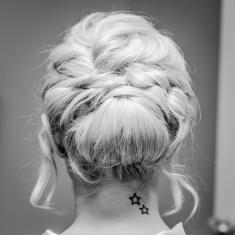 Our Wedding - Brides Hair