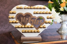 Our Wedding - Mr and Mrs Ferrero Rocher Stand