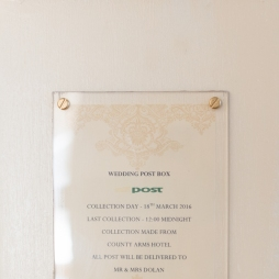 Our Wedding - Wedding Post Box