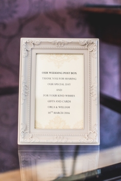 Our Wedding - Post Box Frame