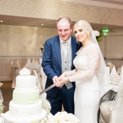 Our Wedding - Cutting the Cake