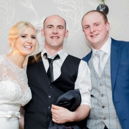 Our Wedding - Orla, Gary and William