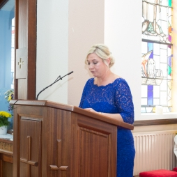 Our Wedding - Yvonne, our first reader