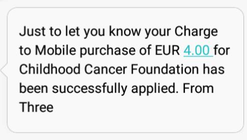 Text Donation