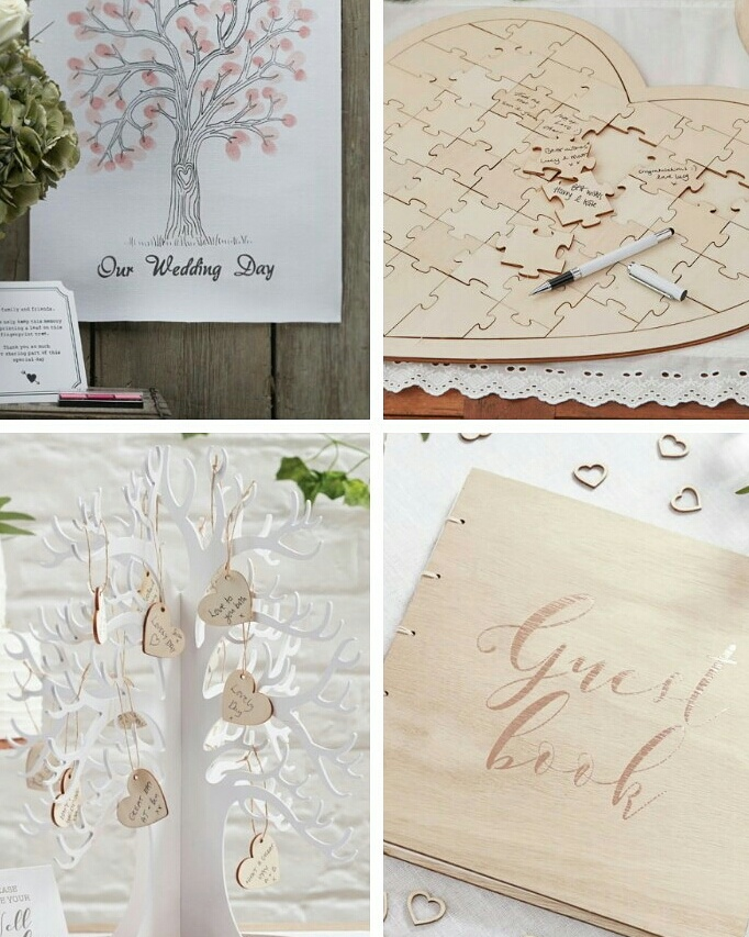 Wedding Alternative Guest Books