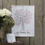 Finger Print Guest Book