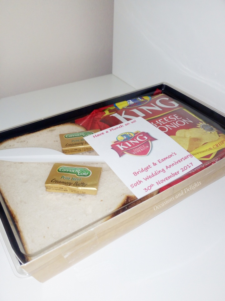 Tayto and King Personalised Sandwich Packs