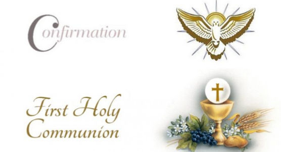 Packages for Communions and Confirmations 2018