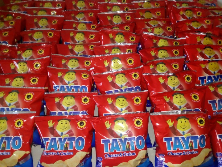 Tayto Packets